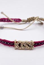 LUA ACCESSORIES  KISS JADE ARMBAND - ROT