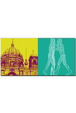 ART-DOMINO® BY SABINE WELZ Berlin - Berliner Dom + Molecul Men