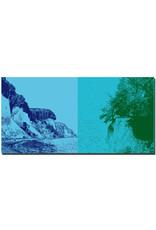 ART-DOMINO® BY SABINE WELZ Rügen - Küste mit Kreidefelsen + Kreidefelsen und entwurzelter Baum