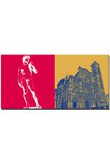 ART-DOMINO® BY SABINE WELZ Florenz - David + Duomo