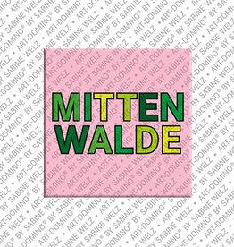 ART-DOMINO® BY SABINE WELZ Magnet - Mittenwalde - 00
