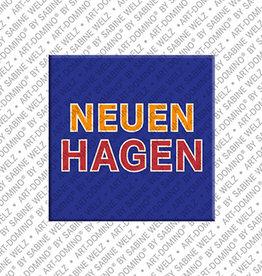 ART-DOMINO® BY SABINE WELZ Magnet - Neuenhagen - 00