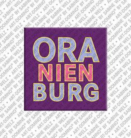 ART-DOMINO® BY SABINE WELZ Magnet - Oranienburg - 00