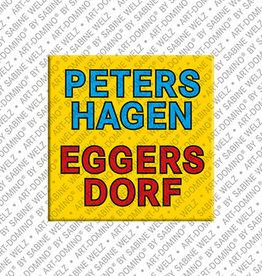 ART-DOMINO® BY SABINE WELZ Magnet - Petershagen-Eggersdorf - 00