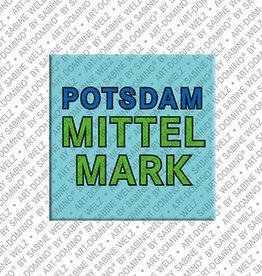 ART-DOMINO® BY SABINE WELZ Magnet - Potsdam-Mittelmark - 00