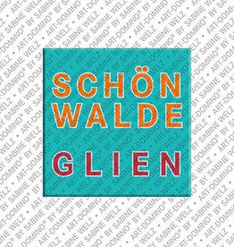 ART-DOMINO® BY SABINE WELZ Magnet - Schönwalde-Glien - 00
