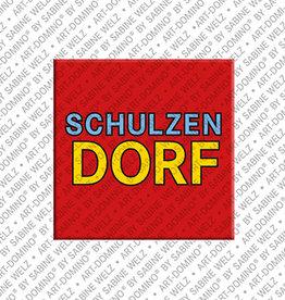 ART-DOMINO® BY SABINE WELZ Magnet - Schulzendorf - 00