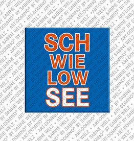 ART-DOMINO® BY SABINE WELZ Magnet - Schwielowsee - 00