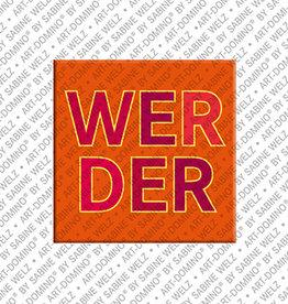 ART-DOMINO® BY SABINE WELZ Magnet - Werder - 00