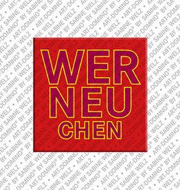 ART-DOMINO® BY SABINE WELZ Magnet - Werneuchen - 00