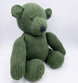 Kenana Knitters Teddy Dschungelgrün Bio GOTS Baumwolle
