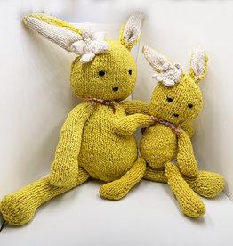 Kenana Knitters Ditsy bunny yellow wool