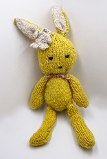 Kenana Knitters Ditsy Hase gelbe Wolle