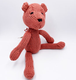Kenana Knitters Teddy chestnut organic GOTS cotton