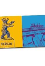ART-DOMINO® by SABINE WELZ Berlin – Berliner Bär + Brandenburger Tor