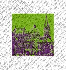 ART-DOMINO® by SABINE WELZ Magnet - Aachen - 01