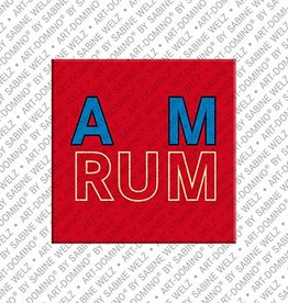 ART-DOMINO® by SABINE WELZ Magnet - Amrum - 00