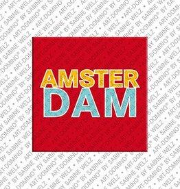 ART-DOMINO® BY SABINE WELZ Magnet Amsterdam - 00