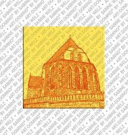 ART-DOMINO® BY SABINE WELZ Magnet - Arnstadt - 01