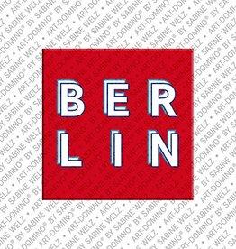 ART-DOMINO® by SABINE WELZ Magnet - Berlin - 00-1