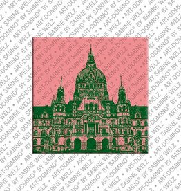 ART-DOMINO® by SABINE WELZ Magnet - Hanover - 03