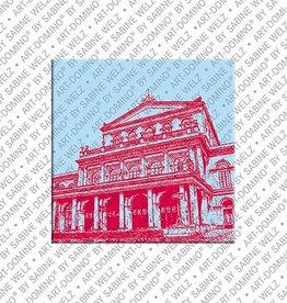 ART-DOMINO® by SABINE WELZ Magnet - Hanover - 05