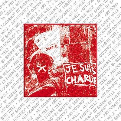 ART-DOMINO® by SABINE WELZ Paris - Je suis charlie
