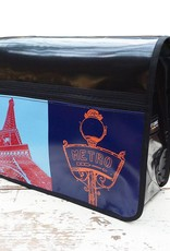 ART-DOMINO® by SABINE WELZ CITY-BAG Nr. 406: Paris