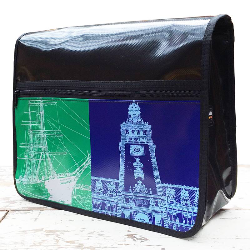 ART-DOMINO® by SABINE WELZ CITY-BAG Nr. 385: Hamburg