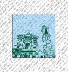ART-DOMINO® by SABINE WELZ Magnet - Nice - 03