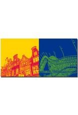 ART-DOMINO® by SABINE WELZ Amsterdam - Stadthäuser + Pythonbrug