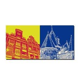 ART-DOMINO® by SABINE WELZ IMAGE SUR TOILE - AMSTERDAM - 4103