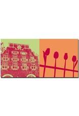 ART-DOMINO® by SABINE WELZ Amsterdam - Stadthaus + am Blumenmarkt