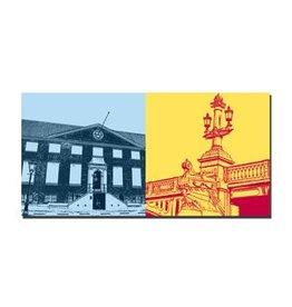 ART-DOMINO® by SABINE WELZ IMAGE SUR TOILE - AMSTERDAM - 4123