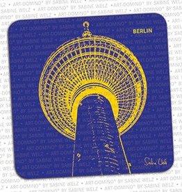 ART-DOMINO® BY SABINE WELZ BIÉRE COASTER - BERLIN - 2