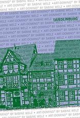 ART-DOMINO® BY SABINE WELZ BIERDECKEL - Quedlinburg - Altstadt