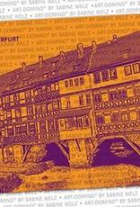 ART-DOMINO® by SABINE WELZ BIERDECKEL - Erfurt - Krämerbrücke
