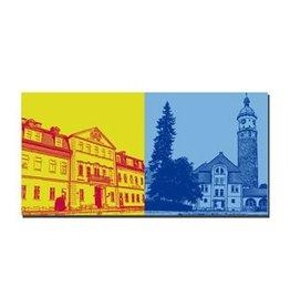 ART-DOMINO® by SABINE WELZ LEINWANDBILD - ARNSTADT - 21502
