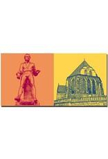 ART-DOMINO® BY SABINE WELZ Arnstadt - Johann-Sebastian Bach + Bachkirche