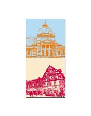 ART-DOMINO® BY SABINE WELZ Bad Homburg - Kaiser-Wilhelm-Bad + Altstadthäuser