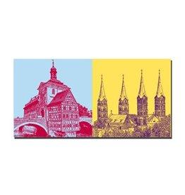 ART-DOMINO® by SABINE WELZ LEINWANDBILD - BAMBERG - 960401