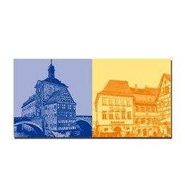 ART-DOMINO® by SABINE WELZ LEINWANDBILD - BAMBERG - 960403