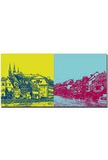 ART-DOMINO® BY SABINE WELZ Bamberg - Blick auf Michaelsberg + Klein Venedig