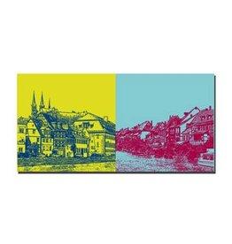 ART-DOMINO® by SABINE WELZ LEINWANDBILD - BAMBERG - 960404
