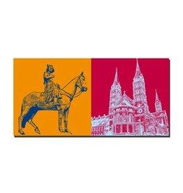 ART-DOMINO® by SABINE WELZ LEINWANDBILD - BAMBERG - 960405