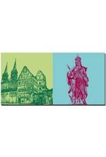 ART-DOMINO® BY SABINE WELZ Bamberg - Alte Hofhaltung + Heilige Kunigunde