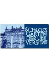 ART-DOMINO® BY SABINE WELZ Erlangen - FAU-Schloss + Schild Schlossgarten