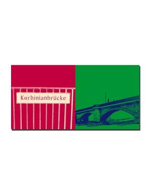 ART-DOMINO® BY SABINE WELZ Freising - Korbinianbrücke + Korbinianbrücke