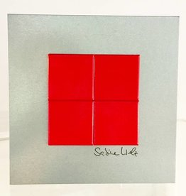 ART-DOMINO® BY SABINE WELZ METALLPLATTEN IM FORMAT 15 x 15 CM