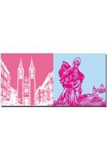 ART-DOMINO® BY SABINE WELZ Würzburg - Dom St. Kilian + Patrona Franconiae Hl. Jungfrau Maria